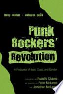 Punk Rockers Revolution Book PDF