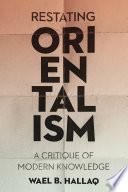 Restating Orientalism