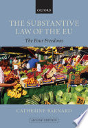 The Substantive Law Of The Eu Book