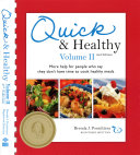 Quick and Healthy Volume II