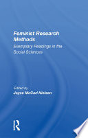 Read Online Feminist Research Methods For Free