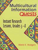 Multicultural Information Quests Pdf/ePub eBook