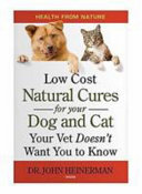 Low Cost Natural Cures for Your Dog and Cat