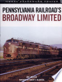 Pennsylvania Railroad S Broadway Limited Book