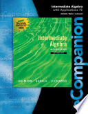 Intermediate Algebra With Applications [Pdf/ePub] eBook