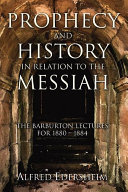 Prophecy and History in Relation to the Messiah Pdf/ePub eBook