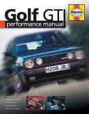 VW Golf Performance Manual