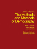 The Methods and Materials of Demography Pdf/ePub eBook