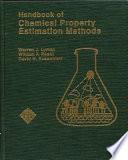 Handbook of Chemical Property Estimation Methods