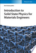 Introduction to Solid State Physics for Materials Engineers