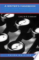 A Writer's Handbook - Third Edition
