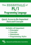 PL 1 Programming Language Essentials