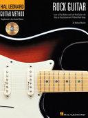 Hal Leonard Rock Guitar Method With Audio  Book