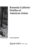 Kennedy Galleries  Profiles of American Artists