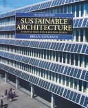 Sustainable Architecture Book PDF