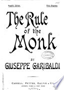The Rule of the Monk Book PDF