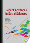 Recent Advances In Social Sciences