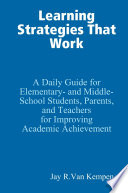 Learning Strategies That Work Book PDF