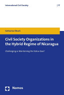 Civil Society Organizations in the Hybrid Regime of Nicaragua
