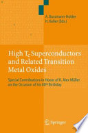 High Tc Superconductors and Related Transition Metal Oxides