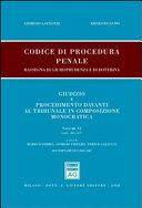 Codice di procedura penale. Rassegna di giurisprudenza e di dottrina ebook
