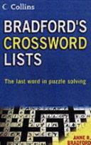 Bradford's Crossword Lists