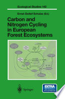 Carbon and Nitrogen Cycling in European Forest Ecosystems Book