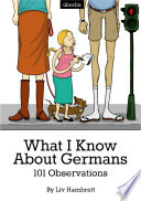 What I Know About Germans Book