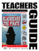 The Mystery of Blackbeard The Pirate Teacher s Guide
