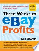 Three Weeks to EBay Profits