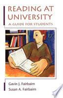 Reading At University Book PDF