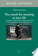 The search for meaning in later life