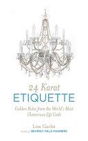 24 Karat Etiquette [Pdf/ePub] eBook