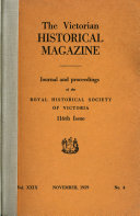 The Victorian Exploring Expedition And Relieving Expeditions 1860 61