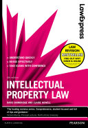 Law Express: Intellectual Property Law 4th edn