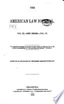 The American Law Journal