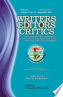 Writers Editors Critics (WEC) Vol. 7, No. 2