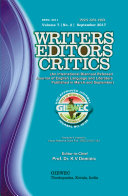 Writers Editors Critics (WEC) Vol. 7, No. 2