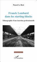 Pdf Franck Lombard dans les starting-blocks Telecharger