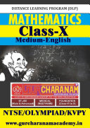 Mathematics Class-10th for NTSE/KVPY/OLYMPIAD Medium-ENGLISH