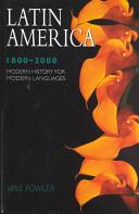 Latin America  1800 2000