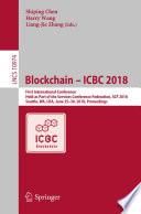Blockchain – ICBC 2018