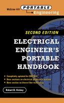Electrical Engineer s Portable Handbook