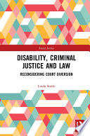 Disability  Criminal Justice and Law