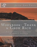 Workbook  Thank and Grow Rich