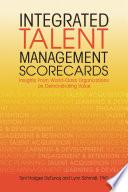 Integrated Talent Management Scorecards Book PDF