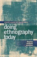 Doing Ethnography Today [Pdf/ePub] eBook