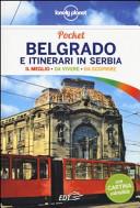 Copertina Libro Belgrado e itinerari in Serbia. Con cartina