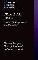 Criminal Lives