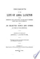 Incidents in the Life of Arba Lankton